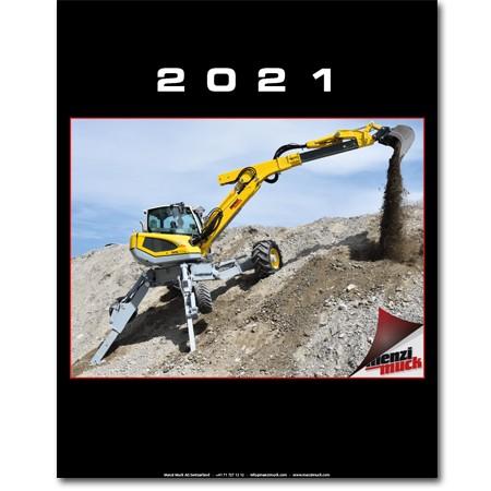 Menzi Muck Kalender 2021