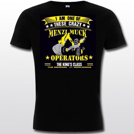 T-Shirt schwarz-gelb